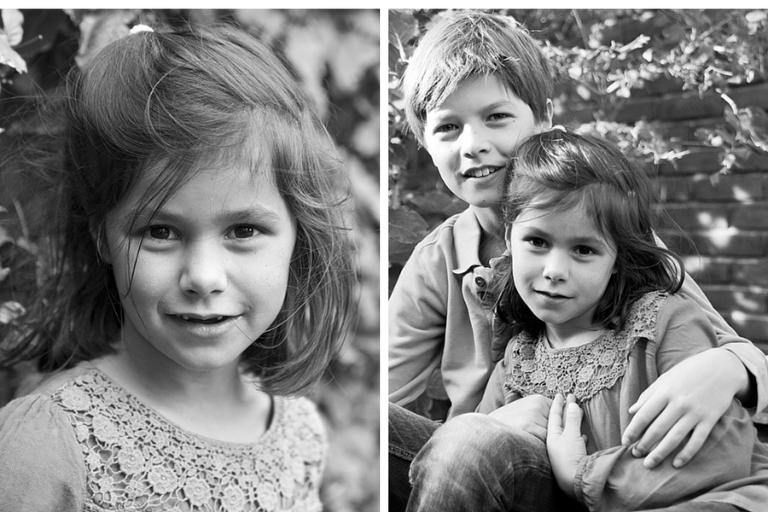 familiefotografie op locatie broer en zus - blog