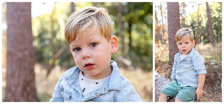 zwangerschapsshoot met zoontje hugo bossen bij bilthoven