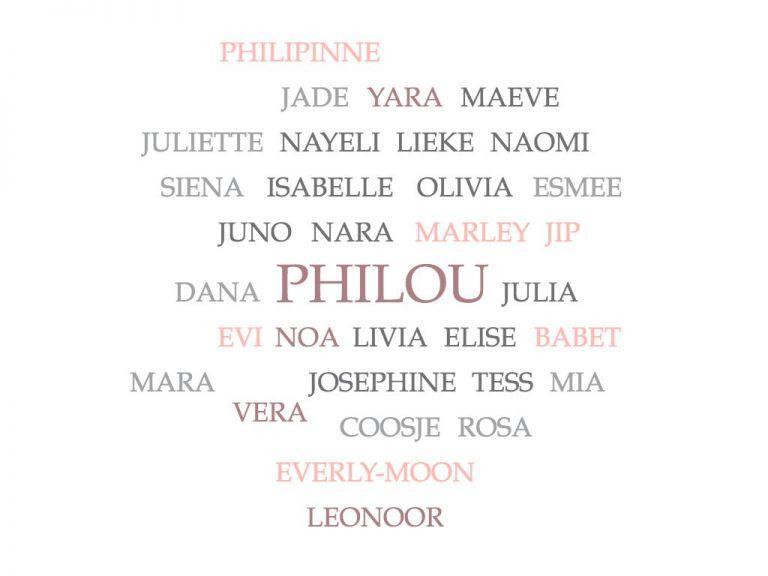 populaire meisjesnamen 2019